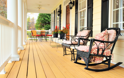 Deck and Porch Decorating on a Budget