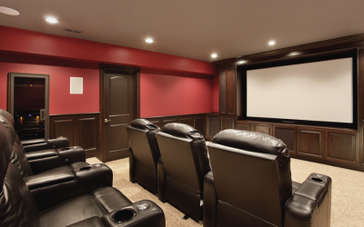 A Home Theater? Yes, Please!